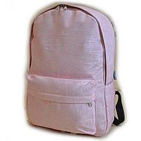 Рюкзак міський спортивний шкільний для підлітка 6932 Рожевий ( код: IBR170P )