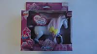 """Игровая лошадка для девочки.Лошадка кукольная с волосами для причесок """"Horse and Fashion Girl"""" в подарочной ко"""