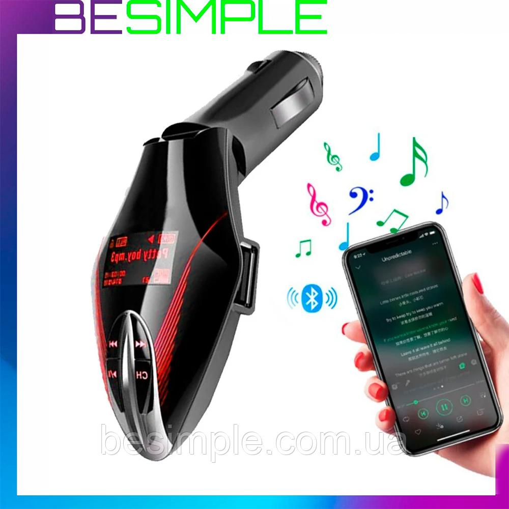 ФМ модулятор в машину FM MOD V7 – Bluetooth трансмітер