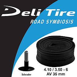 Камера Deli Tire 4.10 / 3.50 - 6 AV