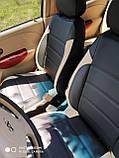 Чохли на сидіння Мітсубісі Аутлендер Спорт (Mitsubishi Outlander Sport) модельні MAX-L з екошкіри, фото 6
