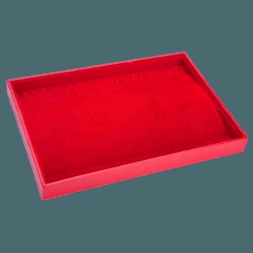 Ювелирный планшет для браслетов красный