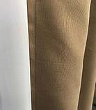 Комплект штор на тасьмі з тюлем Штори мікровелюр + тюль шифон 400х270 Штори з підхватами Колір Золотисті, фото 8