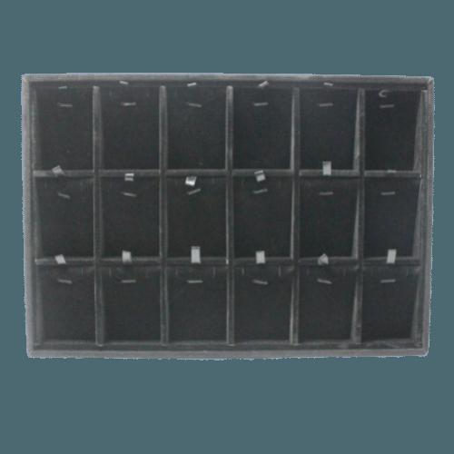 Ювелирный планшет для наборов черный