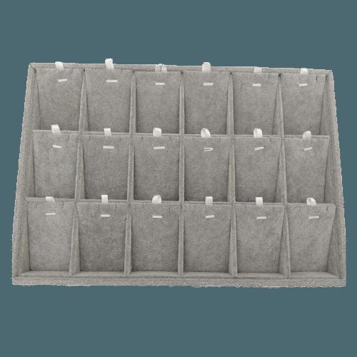 Ювелирный планшет для наборов серый