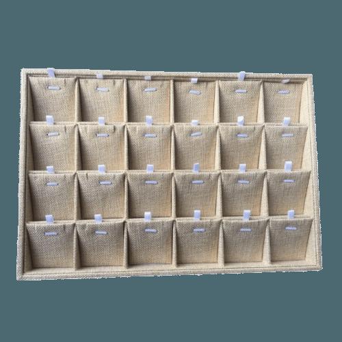 Ювелирный планшет для наборов песочный