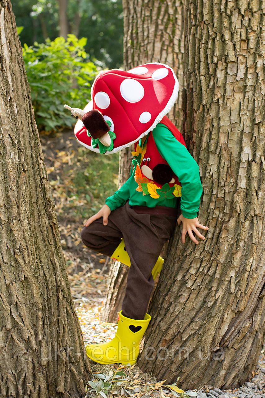 Дитячий карнавальний костюм Гриб «Мухомор»