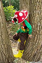 Детский карнавальный костюм  Гриб «Мухомор»
