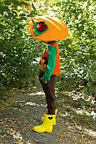 Детский карнавальный костюм гриб Лисички для мальчика