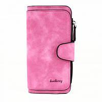 Женский кошелек клатч портмоне Baellerry Forever N2345 розовый 5b