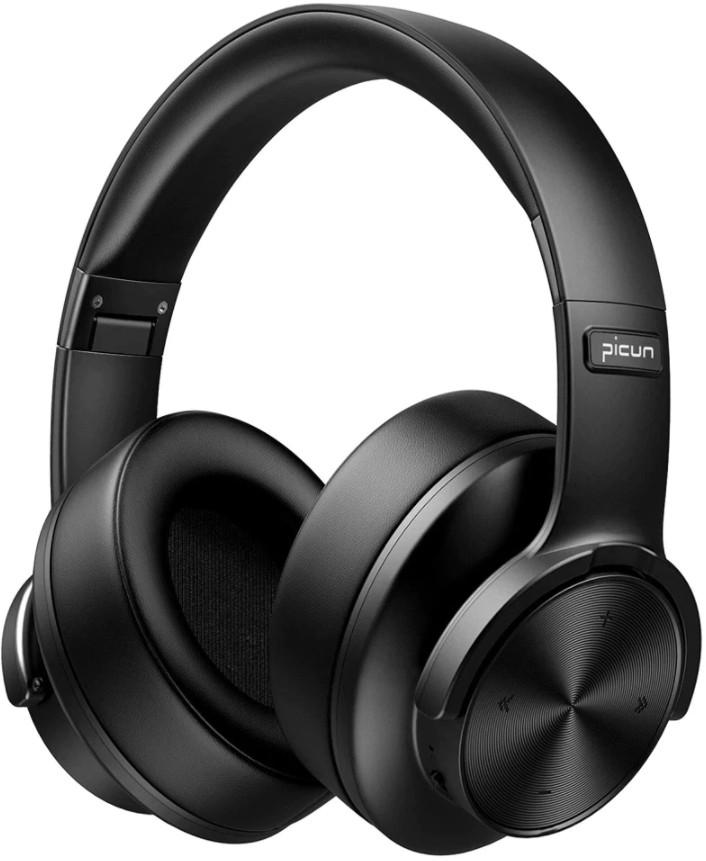 Бездротові Bluetooth-навушники Picun B8 з функцією плеєра Black 5b