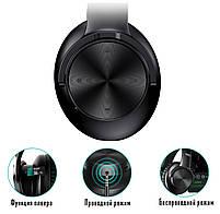 Бездротові Bluetooth-навушники Picun B8 з функцією плеєра Black 5b, фото 2