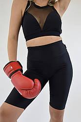 Женская фитнес одежда из бифлекса Lux-Form топ сетка