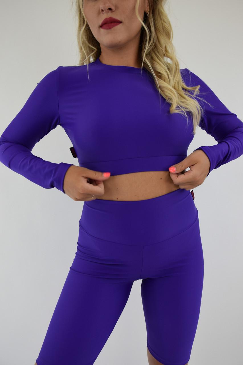 Женская фитнес одежда из бифлекса Lux-Form кофта