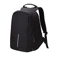 Мужской черный рюкзак, повседневный тканевый рюкзак, простой городской рюкзак CC-7575-10