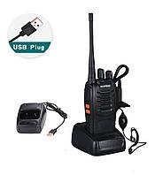 Рація, Радіостанція Baofeng BF-888S USB-зарядка з гарнітурою
