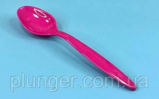 Ложечка для десертів, довжина 12 см, (ціна за 10 шт) Розовый