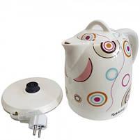 Чайник електричний Rainberg RB-906 керамічний, дисковий,1500 Вт, 1.8 літра 5b, фото 4