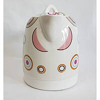 Чайник електричний Rainberg RB-906 керамічний, дисковий,1500 Вт, 1.8 літра 5b, фото 5