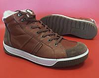 Мужские кожаные зимние кроссовки ECCO BYWAY TRED Оригинал Размер 45