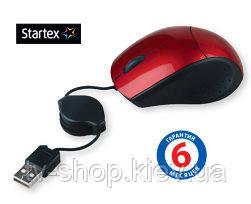 Оптическая мышь для ноутбука  Startex (серебро)