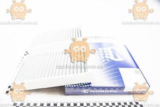 Фильтр салона MERCEDES BENZ GL (X164), M-Klasse (W164), R-Klasse (W251) (угольный) (NORDFIL) ЗЕ 00013885
