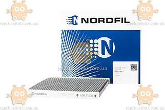 Фільтр салону TOYOTA AVENSIS II (T25), COROLLA IX (E12, E13), COROLLA IX Verso вугільний (NORDFIL) ЗЕ 00013840