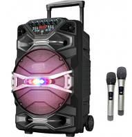Вулична акумуляторна колонка 70 Вт AILIANG 1318SK з 2 мікрофонами, фото 1