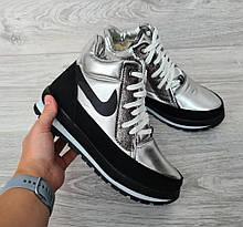 Современные женские зимние ботинки (БТ-6ср)