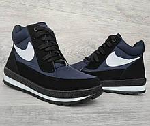 Женские зимние ботинки на шнуровку (БТ-6сн)