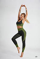 Шикарный безшовный костюм для фитнеса, фото 1