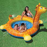 Детский надувной бассейн «Жираф» Intex 57434