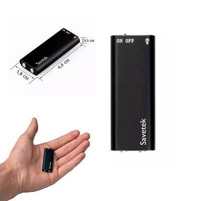 Мини диктофон с голосовой активацией Savetek 200  на 8 ГБ