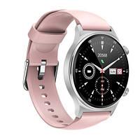 Смарт Часы, Умные часы Smart Watch NK09, pink для Девушек