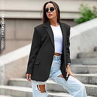 Піджак Yavorsky Хлоя жіночий трендовий стильний вільного крою на гудзиках різні кольори Py304