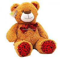 Мягкая игрушка плюшевый Мишка «Ведмедик 010» Копиця, мех искусственный, коричневый, 65*40*30 см, (21033-4)