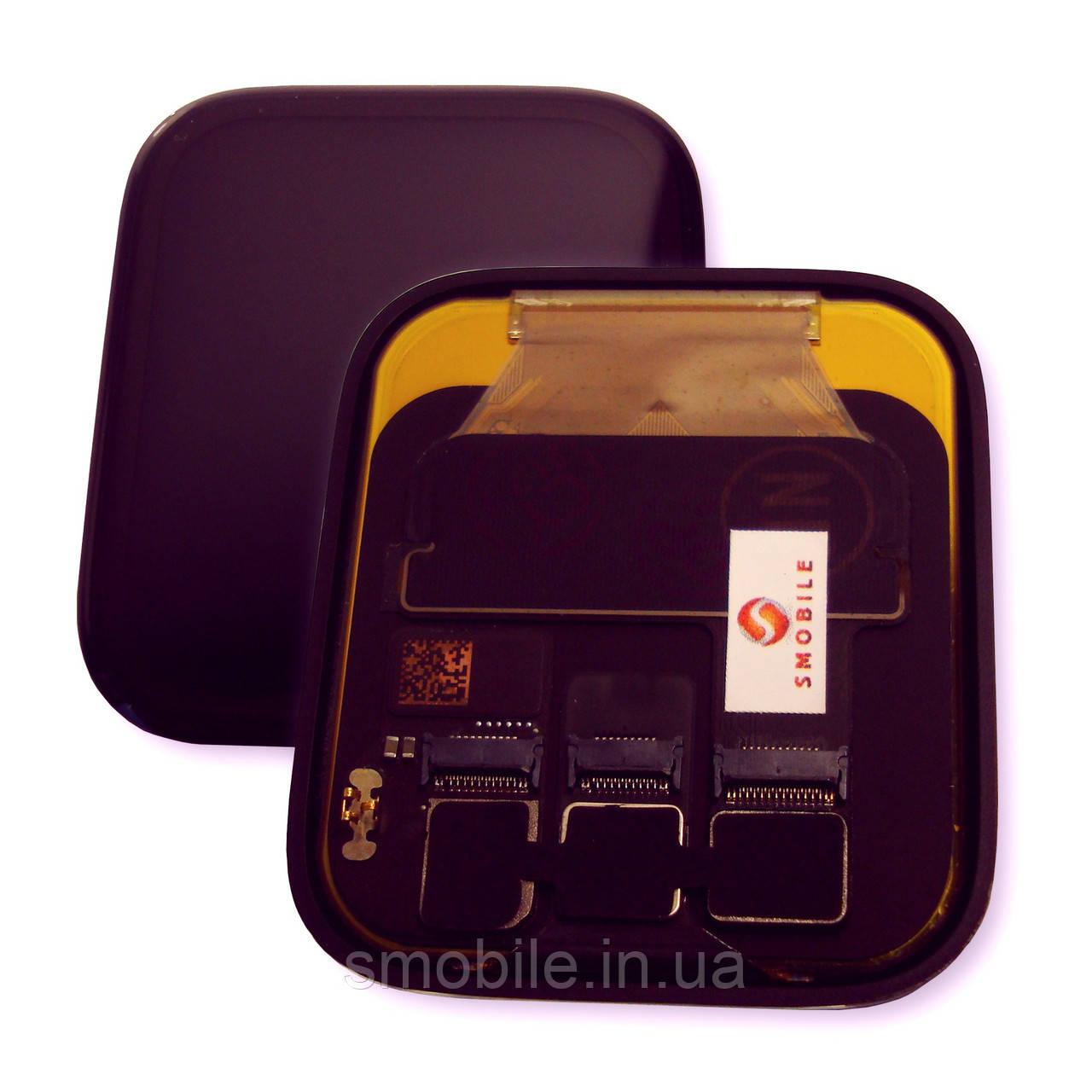 Дисплей Apple Watch SE / Apple Watch Series 5 (44 мм) з сенсором чорного кольору (оригінал Китай)