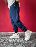 Джинси - трендові джинси Чоловічі / чоловічі трендові джинси сині на резинці, фото 2