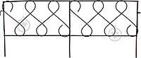 Декоративное ограждение для клумб Фасция ПД-ЕЕ-44 коричневый
