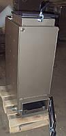 Твердотопливный котел Bizon FS-8 Eko, 8 кВт, длительного горения, шахтного типа (Холмова), верхняя загрузка