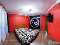 Новая просторная квартира вблизи центра рядом с метро, 2х-комнатная (76078)