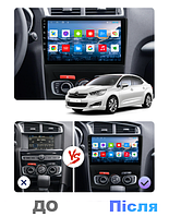 Штатна Android Магнітола на Citroen C4 2013-2016 Model 3G-WiFi-solution + canbus (М-ЦС4Н-10-3Ж)