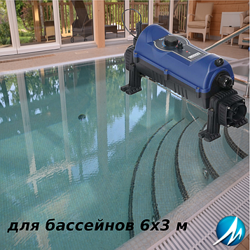 "Электронагреватель ""под ключ"" для бассейна 6х3 м"