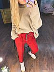 Женские замшевые брюки, фото 6