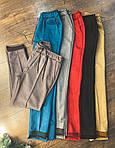Женские замшевые брюки, фото 9