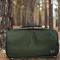 Рыбацкая сумка карповая органайзер для крючков и лесок VA R138 Сумка для рыбалки