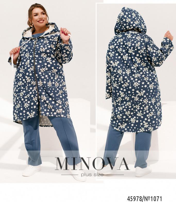 Джинсовая куртка в большом размере, размеры: 50-52, 54-56, 58-60, 62-64, 66-68