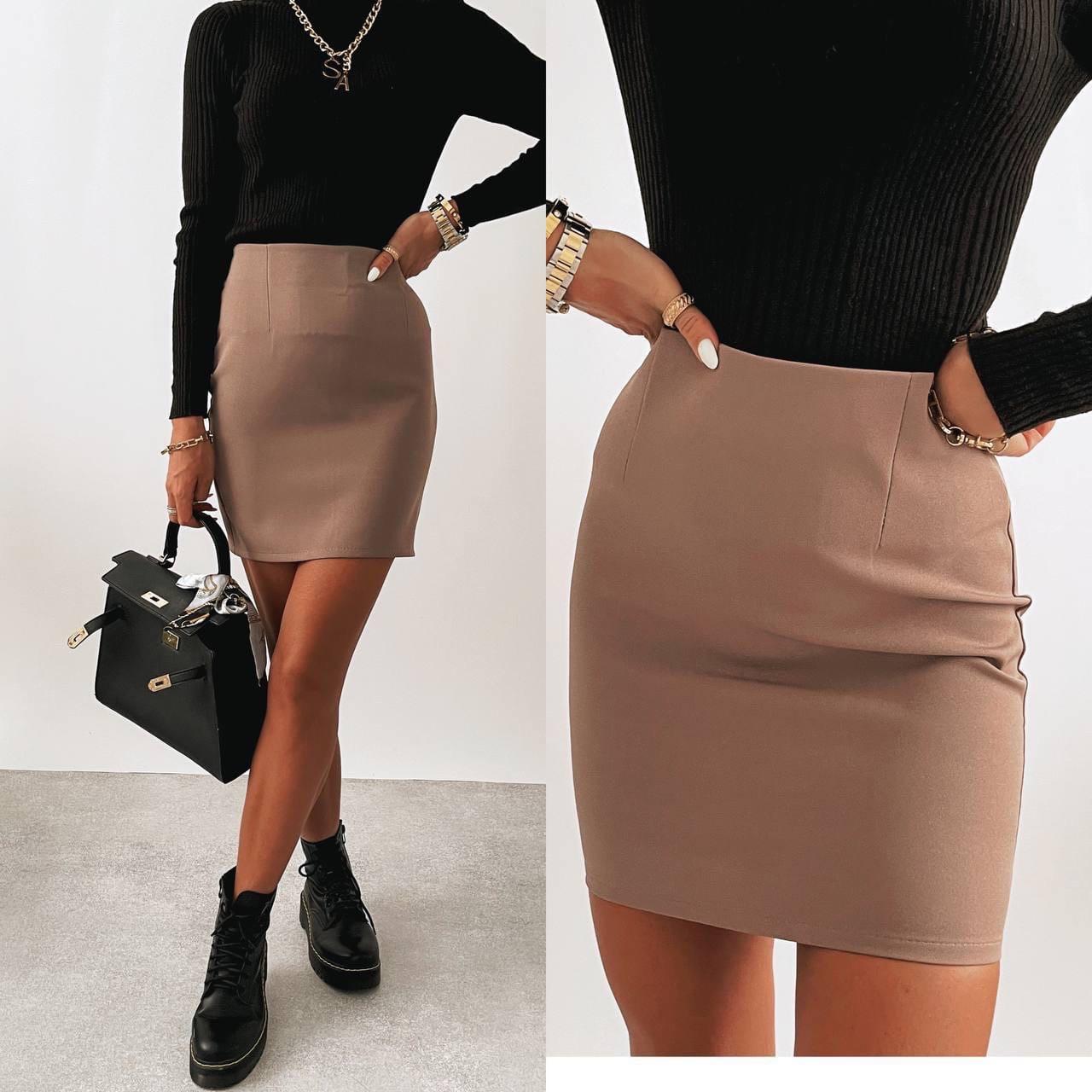 Классическая женская юбка-карандаш