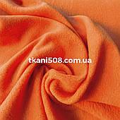 Ткань Флис (оранжевый)