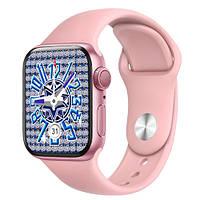 Смарт Часы, Умные Часы Smart Watch NB-PLUS, беспроводная зарядка, pink